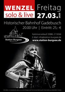 WENZEL – solo & live